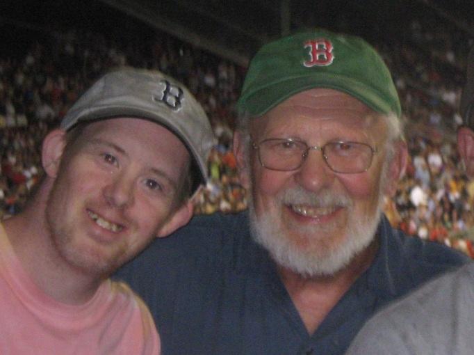 Bob and Chris at Fenway